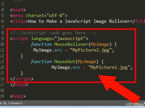 onmouseover imagenes html how to make a javascript image rollover with pictures