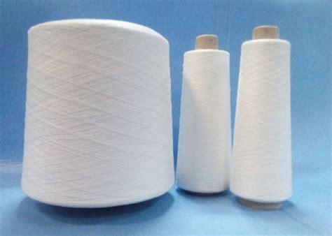 Benang Rajut Polyester Hitam cincin tinggi sentuhan spun polyester benang penutupan
