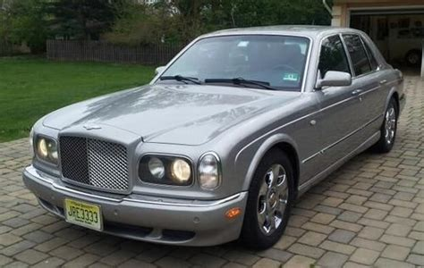 navy blue bentley sell used 2003 bently arnage r silver with navy blue