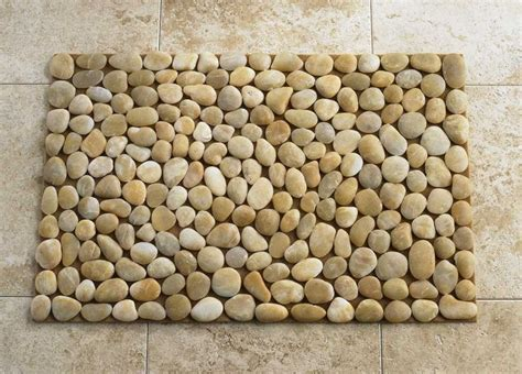 Rock Bath Mat by Ochre River Mat The Master Suite