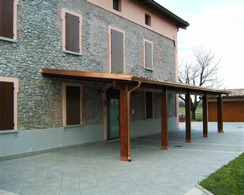 Portico A Colonne by Porticato Con Colonne Ad Una Falda Linea Classica