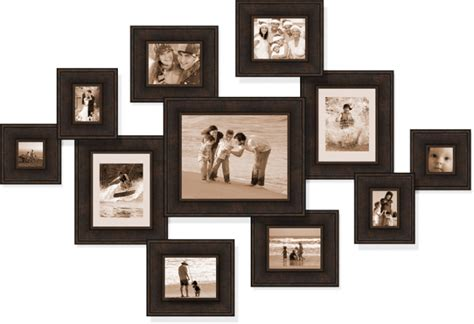 collage style picture frames home decor ideas and styles varied large collage picture