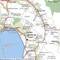 map of watsonville california pajaro valley start times