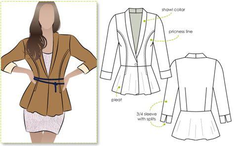 jacket design pdf stylearc marni ponti jacket