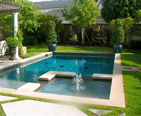 beautiful backyard pool for the home