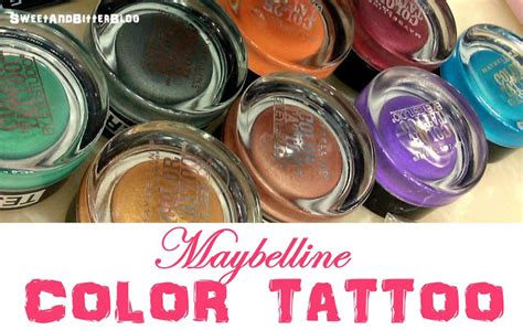 maybelline color tattoo online india sweet and bitter blog september 2012