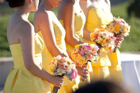yellow wedding color combination ideas weddings start here