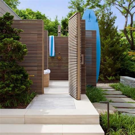 luxury modern outdoor shower hgtv