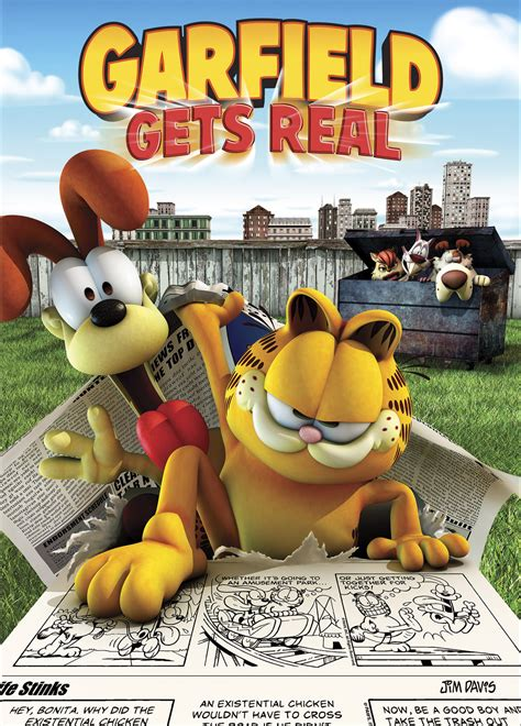 film cartoon garfield garfield geri d 246 n 252 yor garfield gets real beyazperde com