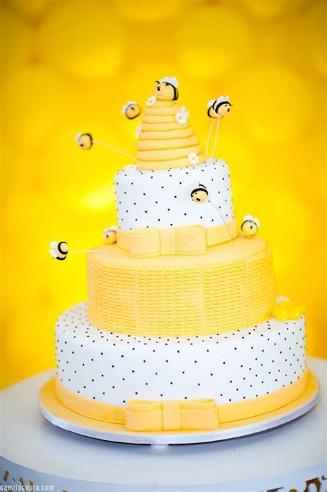 bees birthdays and cakes on