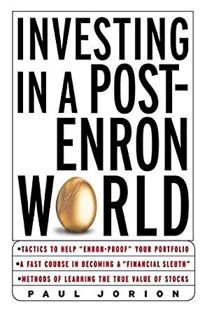 Investing In A Post Enron World investing in a post enron world ebook paul jorion kindle store