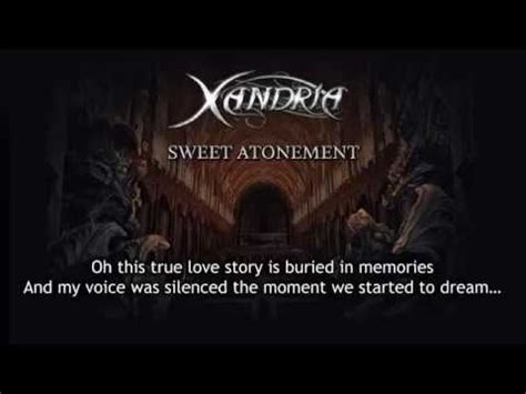 lyrics xandria xandria sweet atonement lyrics