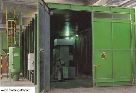 cabina di sabbiatura usata plastin gold