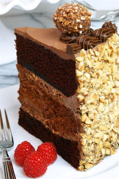 chocolate nutella cheesecake cake by wickedgoodkitchen chocolate hazelnut velvet cake with
