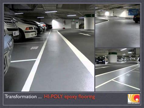 Pacific Place Car Park, Hong Kong, Epoxy Resin Seamless