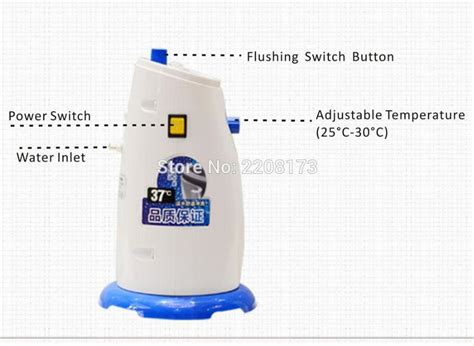 bathroom water sprayer hygienic eco friendly and easy install hightech seat