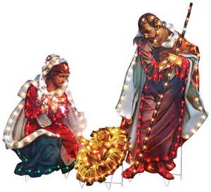 lighted outdoor nativity set nativity lighted yard displays wikii