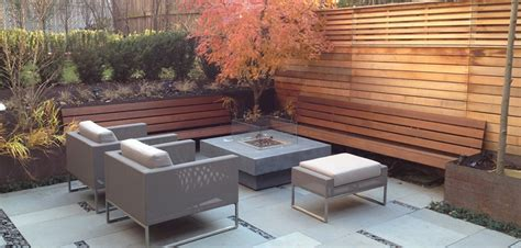 contemporary backyard ideas modern patio landscaping in outremont montreal outdoor living