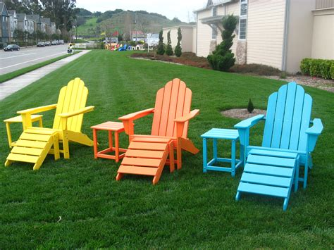 Poly Resin Adirondack Chairs Green Frog S Recycled Plastic Outdoor Furniture Blog Go
