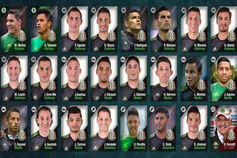 mexican names ricardo quot tuca quot ferretti names mexico squad ahead of friendlies