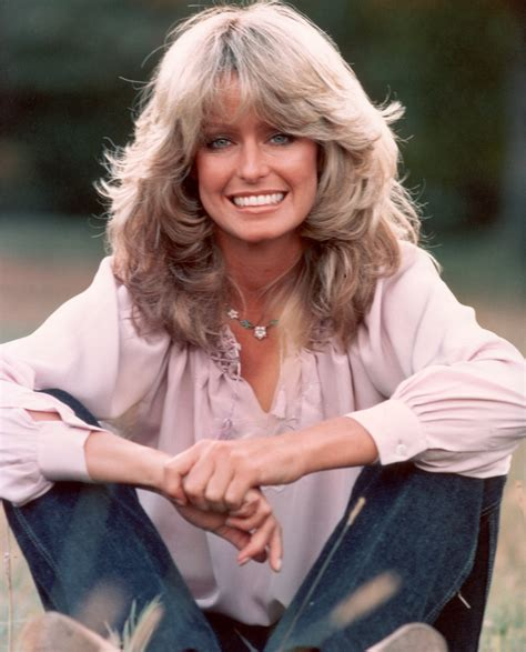 Farrah Fawcett Hairstyle by Farrah Fawcett And Iconic 70s Hairdo Photo Huffpost