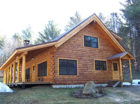 waterville vt log cabin green mountain painters