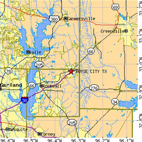 royse city texas map royse city texas tx population data races housing economy