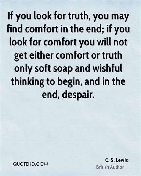 comfort for you cs lewis quotes on comfort quotesgram