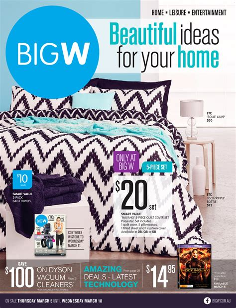 big w home catalogue march 2015