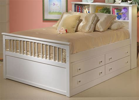 White Youth Bedroom Furniture by Bayfront White Youth Captain S Bedroom Set From New