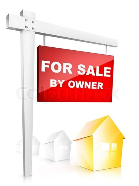 real estate sign for sale by owner 2d artwork computer
