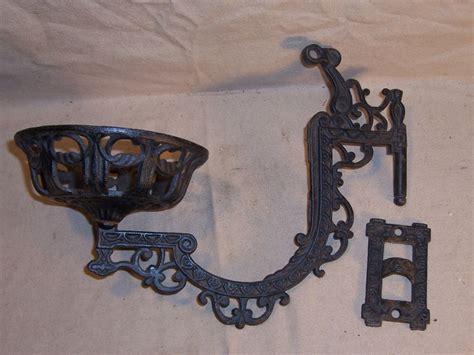 cast iron wall bracket antique kerosene oil l holder cast iron wall mount