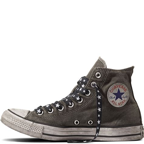 Patchwork Converse - chuck all army patchwork converse gb