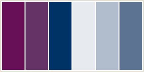 mystic blue color colorcombo210 with hex colors 660f57 663366 003366