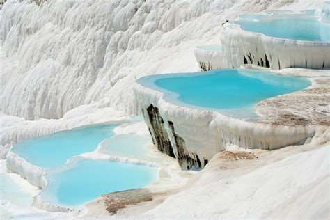 pamukkale thermal pools natural rock pools pamukkale turkey facts pod