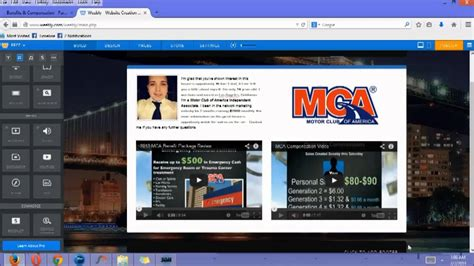 tutorial video sites step 2 mca training how to make a free weebly website