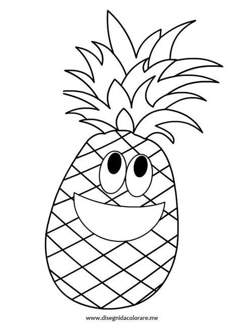 Pinterest The World S Catalog Of Ideas Pineapple Coloring Page