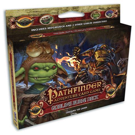 Gift Card Burn Deck - pathfinder acg goblins burn class deck boutique philibert en