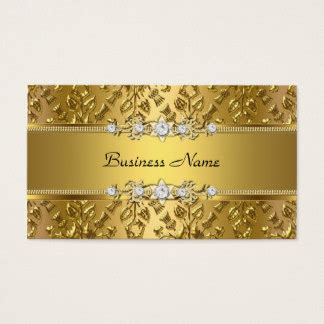 Gold Embossed Business Cards