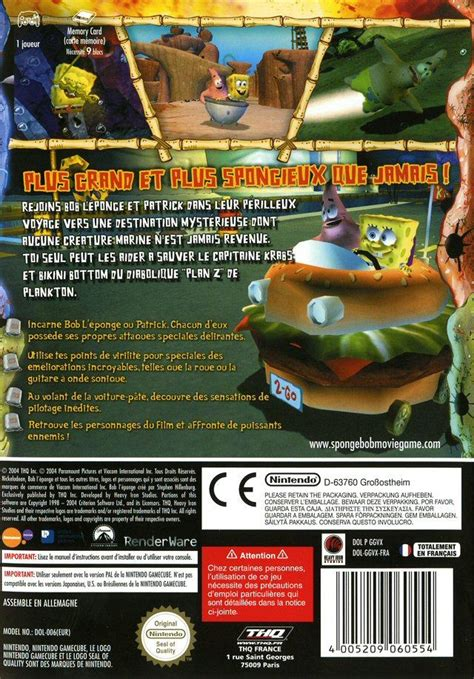 jeux bob l 駱onge cuisine jaquette pour pc sur le forum minecraft 08 06 2013 23 40