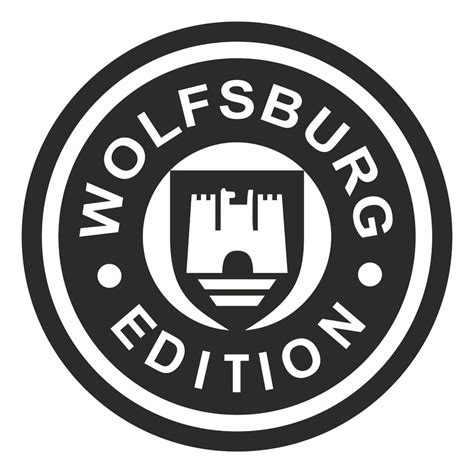 volkswagen logo vector wolfsburg edition decal vinyl sticker vw dub