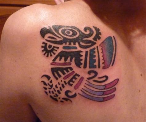 aztec tattoos for females 15 mind blowing aztec tattoos ideas sheideas