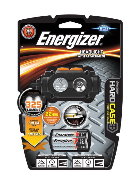 energizer rugged led headlight energizer 5 led headlight with universal attachment bokm 229 l