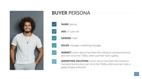 Buyer Persona Keynote Presentation Template By Sananik Graphicriver Buyer Persona Template
