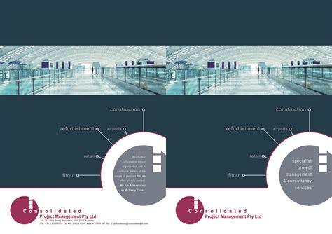 design management partnership ltd upmarket modern management consulting brochure design