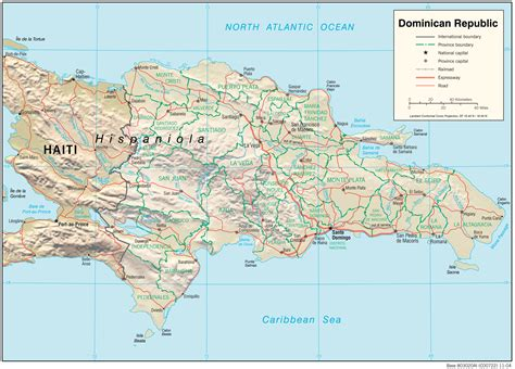 printable map dominican republic dominican republic maps perry casta 241 eda map collection