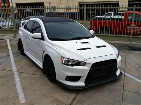 mitsubishi sports car white the official wicked white thread evoxforums com
