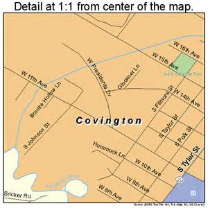 covington map covington louisiana map 2218125