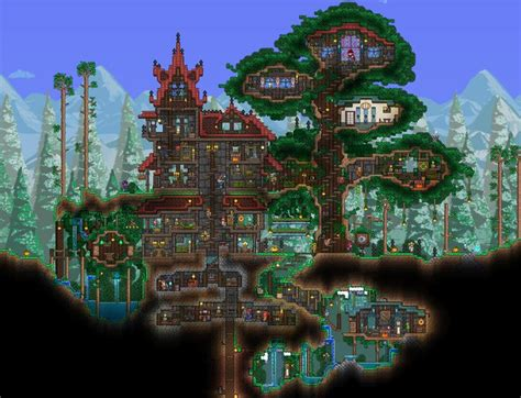 terraria best house design 491 best images about terraria sigh i know on pinterest baroque jungle house