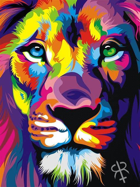 rainbow lion ipad mini wallpaper